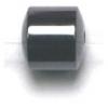 Magnetic Drum Round Edge 6X6mm 16in Strand Hematite